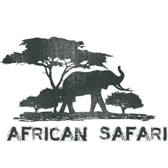 African Safari Logo Design