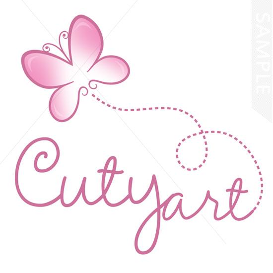 Butterfly Cute Logo Design