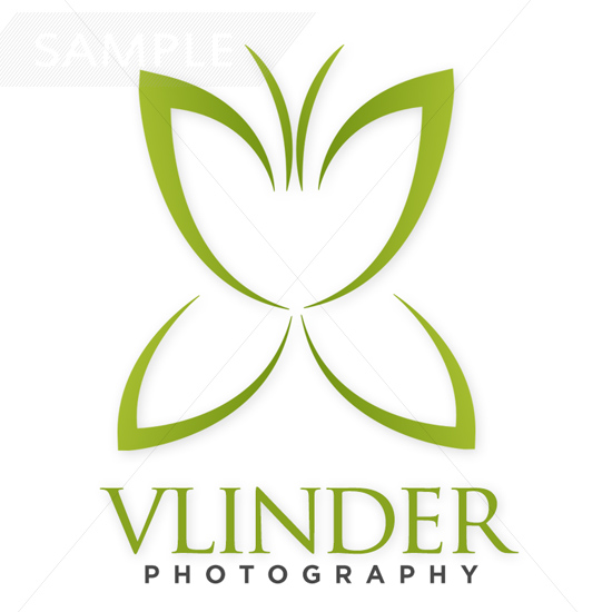 Butterfly Vlinder Logo Design