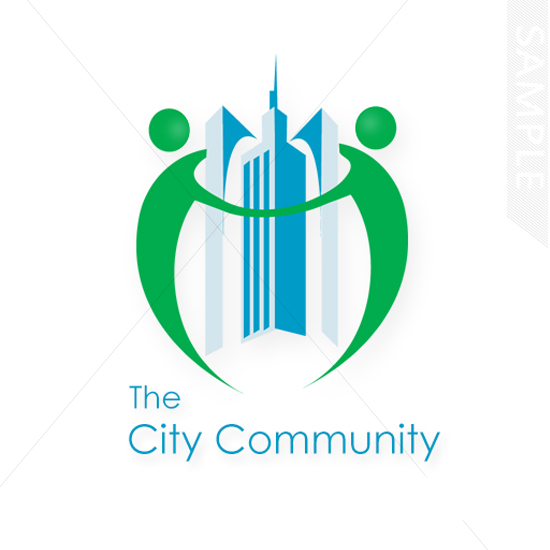Real Estate City Logo