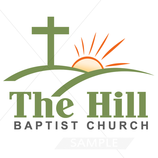 Church Hill Logo Design