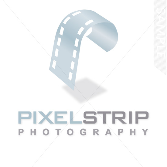 Pixel Photo Logo Design