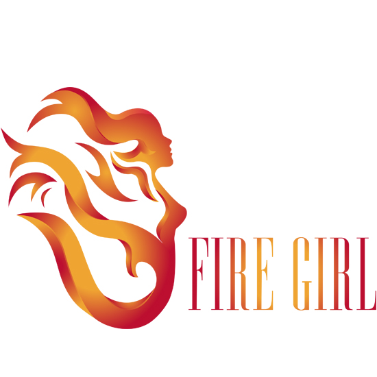 Fire Girl Logo Design