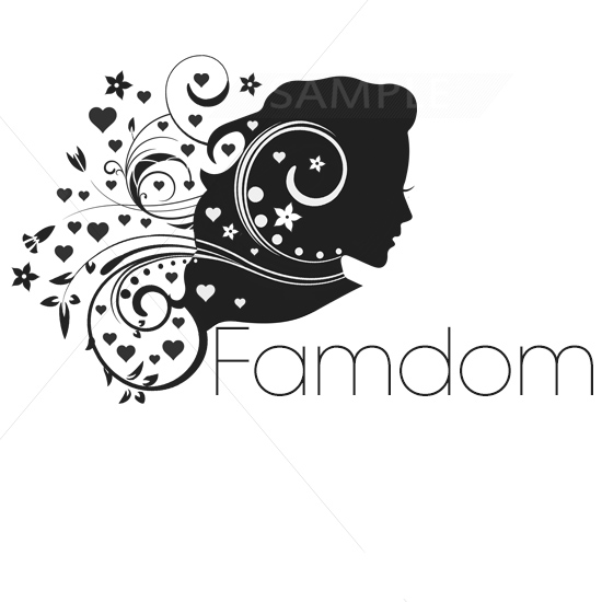 Floral Hair Logo Design