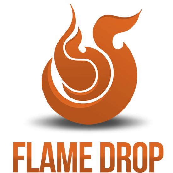 Orange Flame Design