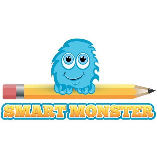 Pencil Monster Logo Design