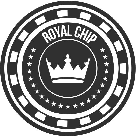 Poker Chip Template | Retro Poker Chip Logo Design