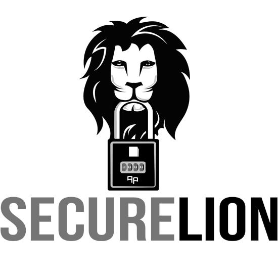 security lion logo design