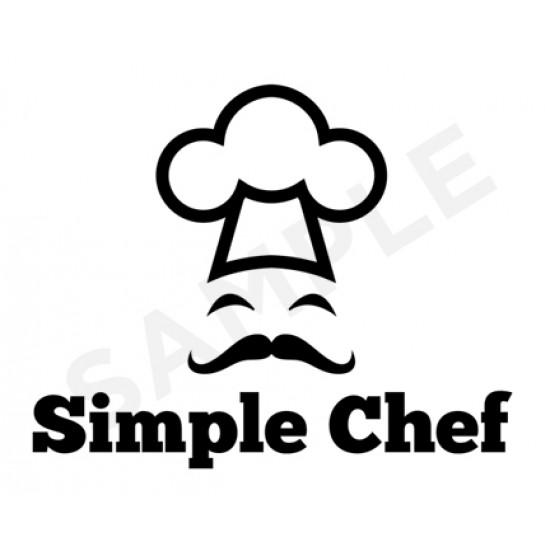 Simple Chef Logo Design