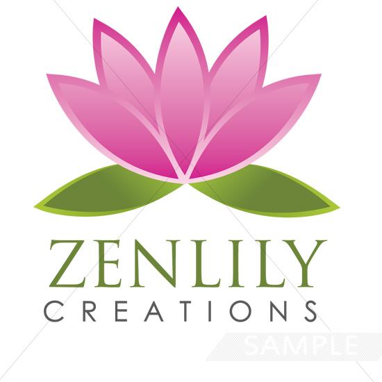 Zen Lotus Logo Design
