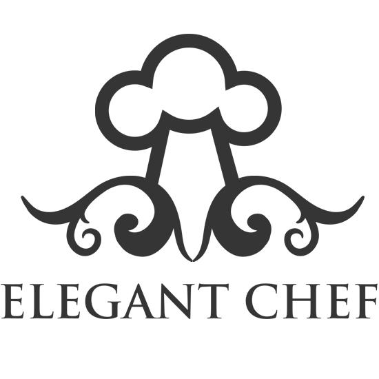 Elegant Chef Hat Logo Design