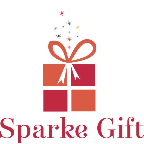 sparkle gift logo design